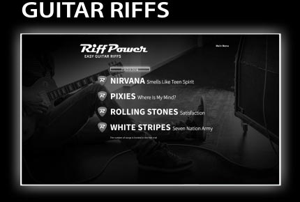 RiffPower Easy Guitar Riffs