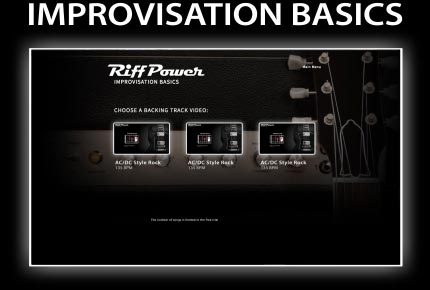 RiffPower Guitar Improvisation Basics